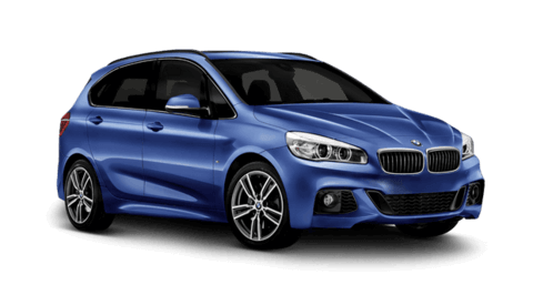 BMW Serie 2 active tourer blu